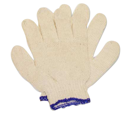 Guantes tejidos jersey